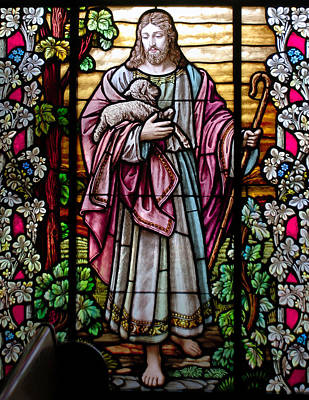 Photograph - The Good Shepherd by Larry Ward
