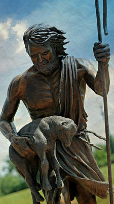 Saint Hope Photograph - The Good Shepherd by Stephen Stookey