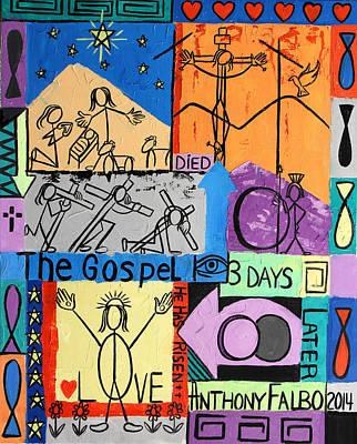 The Gospel Print by Anthony Falbo