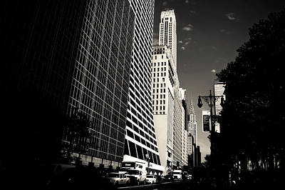 The Grace Building And The Chrysler Building - New York City Art Print by Vivienne Gucwa