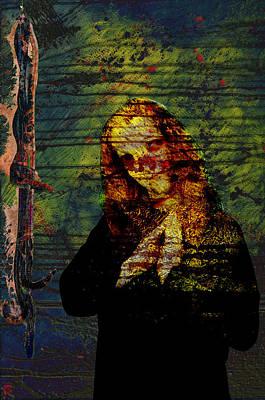 Digital Art - The Grace by Jakub DK