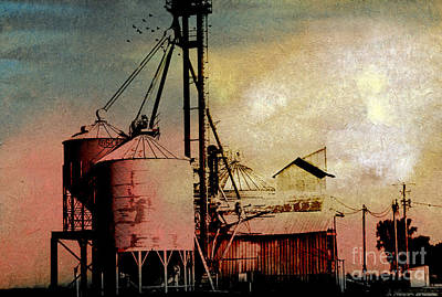 The Granary Art Print by R Kyllo