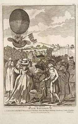 Sheldon Photograph - The Grand Air Balloon by British Library