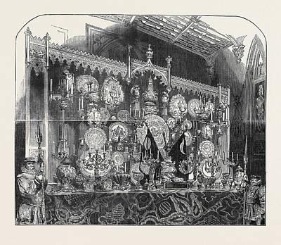 Buffet Drawing - The Grand Buffet by English School
