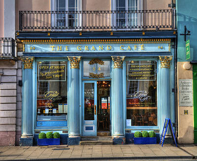 Photograph - The Grand Cafe by Mick House