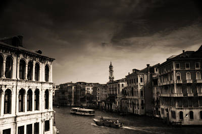 Spaghetti Photograph - The Grand Canal by Aaron Bedell