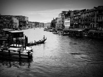 Photograph - The Grand Canal by Jodie Marie Anne Richardson Traugott          aka jm-ART