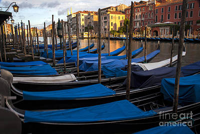 Photograph - The Grand Canal by Timothy Johnson