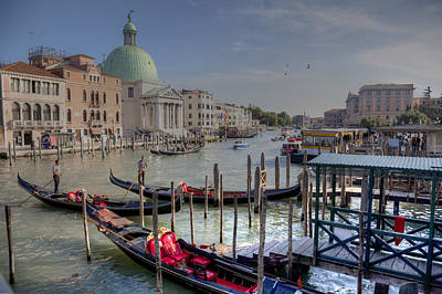 Photograph - The Grand Canal by Uri Baruch