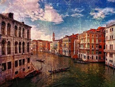 The Grand Canal Venice Italy Art Print by Suzanne Powers