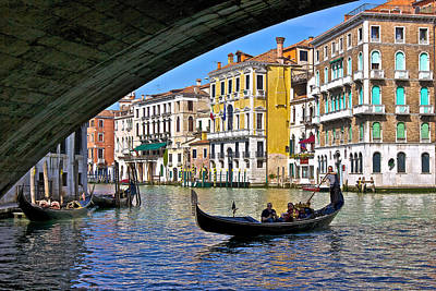 Photograph - The Grand Canal by Walt  Baker