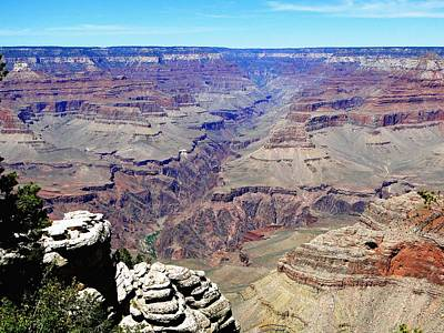 Photograph - The Grand Canyon At Its Peak Performance by Charlayne Grenci