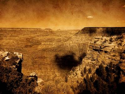 Hiking Digital Art - The Grand Canyon by Dan Sproul