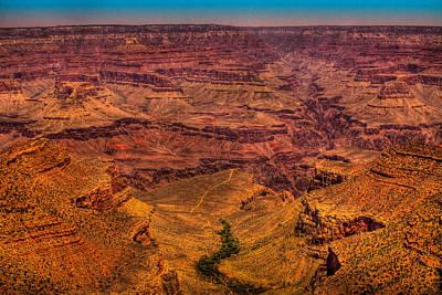Grand Canyon Photograph - The Grand Canyon  by David Patterson