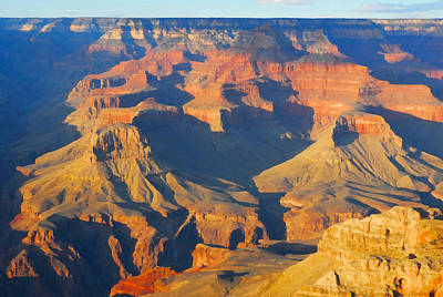 Photograph - The Grand Canyon From Outer Space by Jpl