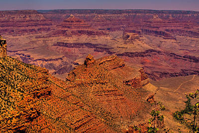 The Grand Canyon Iv Art Print by David Patterson