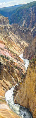 Photograph - The Grand Canyon Of Yellowstone by Aaron Spong