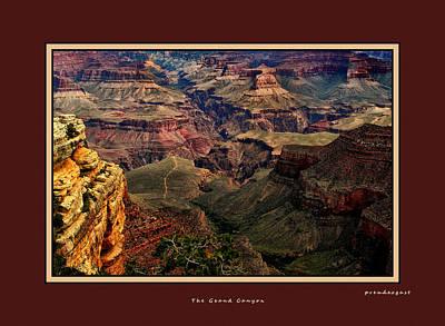 The Grand Canyon Art Print by Tom Prendergast