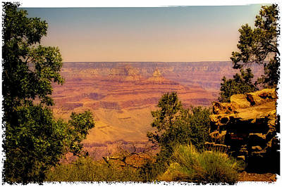 Photograph - The Grand Canyon Vintage Americana Iv by David Patterson