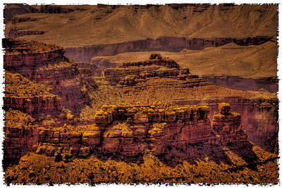 Photograph - The Grand Canyon Vintage Americana Viii by David Patterson