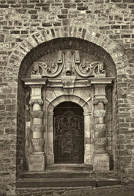 Sepia Photograph - The Grand Entrance by Marcia Colelli