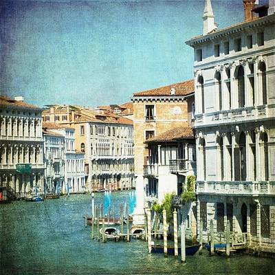 Photograph - The Grand Lady - Venice by Lisa Parrish