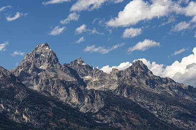 Photograph - The Grand Tetons - Grand Teton National Park Wyoming by Brian Harig