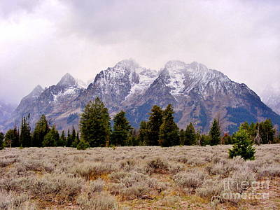 Marilyn Photograph - The Grand Tetons by Marilyn Smith