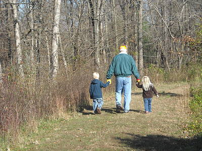 Grandkids Photograph - The Grandkids by DD Edmison