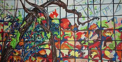 Painting - The Grapevine by Esther Newman-Cohen