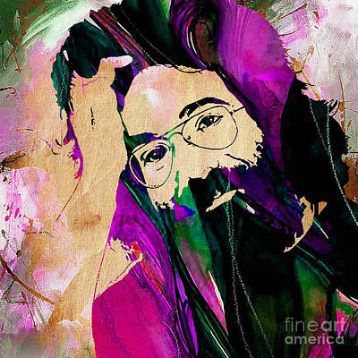 The Grateful Dead Jerry Garcia Art Print by Marvin Blaine