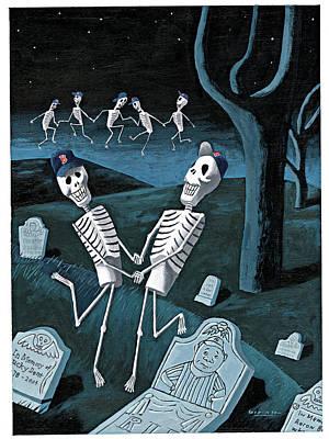 Babe Ruth Digital Art - The Grateful Dead by Mark Ulriksen