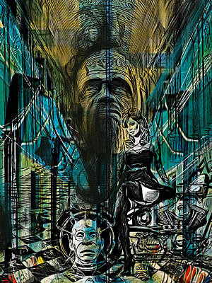 Science Fiction Mixed Media - The Great and Powerful by Russell Pierce