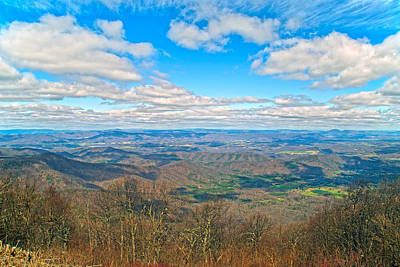 Mountain View Photograph - The Great Blue Ridge Parkway by Betsy Knapp