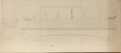 The Great Britain Iron Steam Ship Art Print