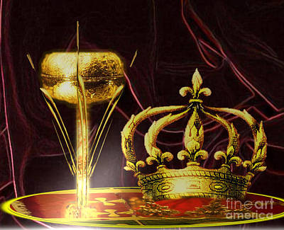 Painting - The Great Chalice by Belinda Threeths