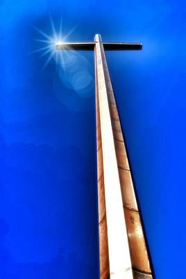 The Great Cross Of St. Augustine - Mission Nombre De Dios Art Print