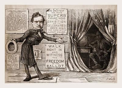 The Great Democratic Moral Show Art Print