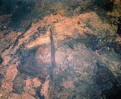Zimbabwe Photograph - The Great Dyke Volcanic Intrusion by Nasa/science Photo Library