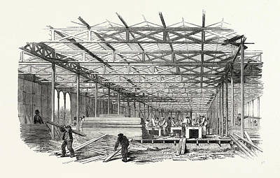 The Great Exhibition The Building Of The Crystal Palace Art Print
