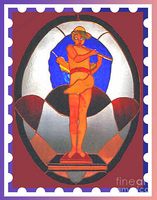 The Great God Pan Plays Art Print by Patricia Keller