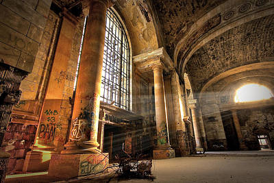 Photograph - The Great Hall by Mike Lanzetta