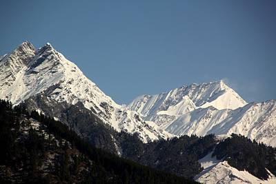 Photograph - The Great Himalayan Range by Ramabhadran Thirupattur