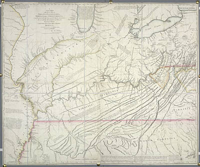 Cartography Photograph - The Great Lakes by British Library