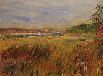 The Great Marsh Art Print