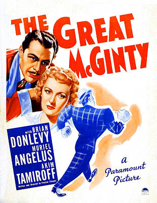 Angelus Photograph - The Great Mcginty Aka Down With by Everett