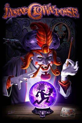 The Great Milenko Dc Art Print by Tom Wood