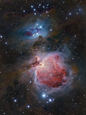 The Great Orion Nebula Art Print