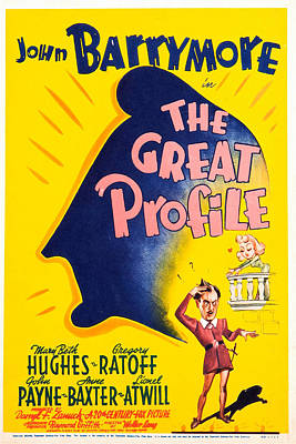 The Great Profile, Us Poster, John Art Print by Everett