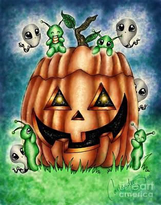 The Great Pumpkin Art Print by Coriander  Shea